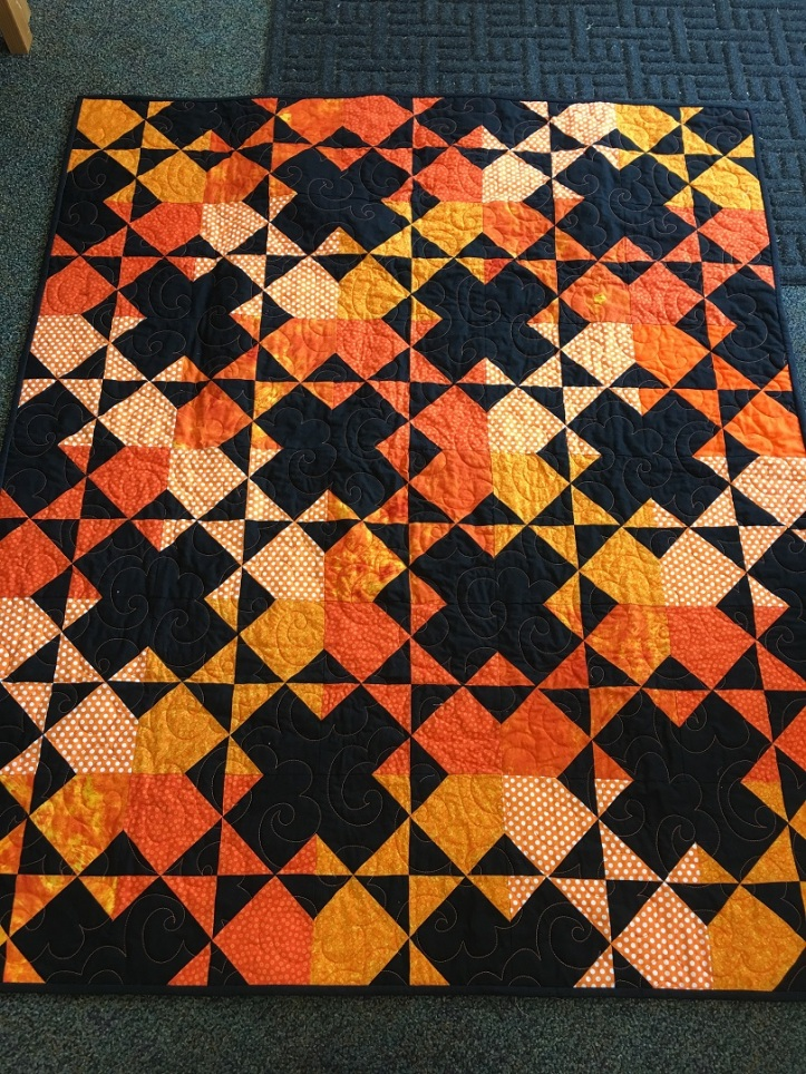 OSU Quilt Finished